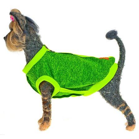 Толстовка для собак Happy Puppy Спорт 4 Зелёная