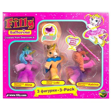 Набор Filly Балерина 3 фигурки с аксессуарами в ассортименте