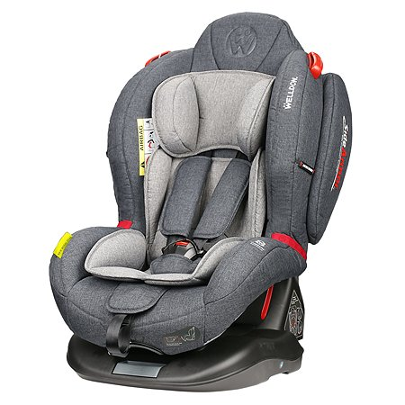 Автокресло Welldon Royal Baby Dual Fit Grey
