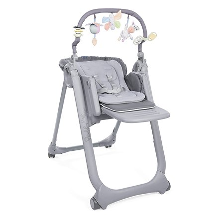 Стульчик Chicco Polly Magic Relax Graphite