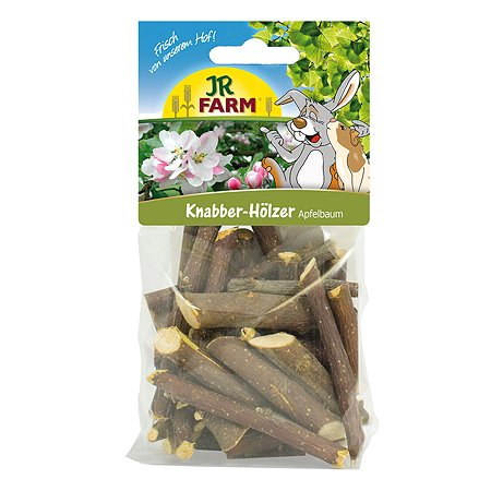 Палочки для грызунов JR Farm из яблони 100г