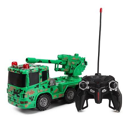 Игрушка Global Bros РУ Военная машина Зенитка YS185741