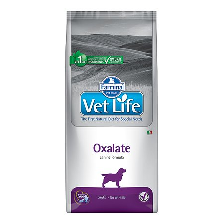 Корм для собак Farmina VetLife оксалат 2кг
