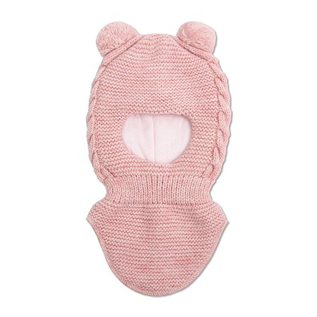Шапка-шлем BabyGo розовая