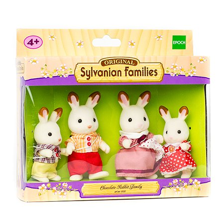 Семья кроликов Sylvanian Families 3125