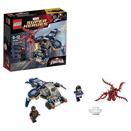 Конструктор LEGO Super Heroes Воздушная атака Карнажа (76036)
