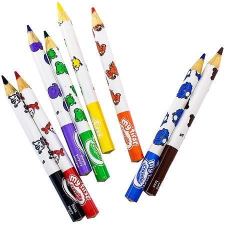 Набор карандашей Crayola толстых для малышей 8 цв