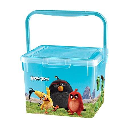 Контейнер для игрушек Пластишка Angry Birds в ассортименте