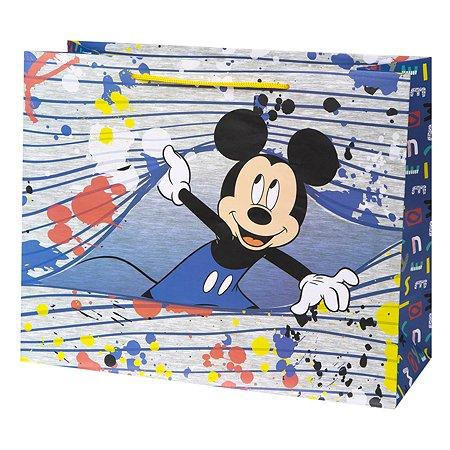 Пакет подарочный Феникс Презент Дисней Микки 32*26*13см 140г/м2 81182