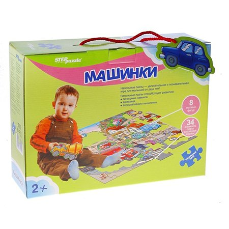 Пазлы Step Puzzle Машинки (70102)