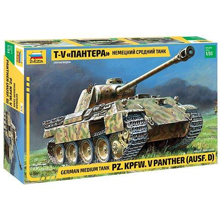 Модель для сборки Звезда Немецкий танк Т-V Пантера