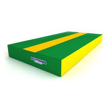 Мягкий щит ROMANA pro ДМФ-ЭЛК-14.00.00 зеленый-желтый