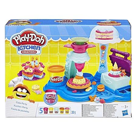 Набор пластилина Play-Doh Сладкая вечеринка 5цветов B3399EU6