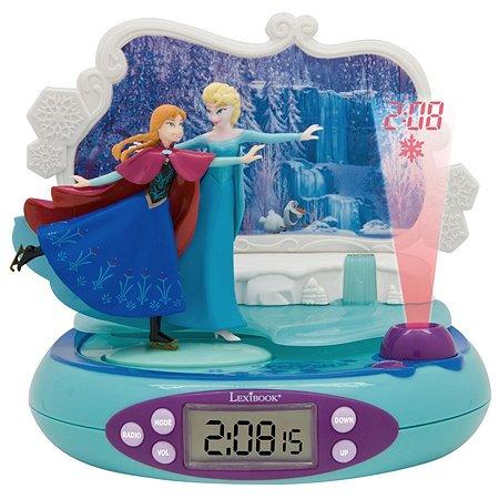 Часы-будильник-проектор Lexibook Холодное Сердце