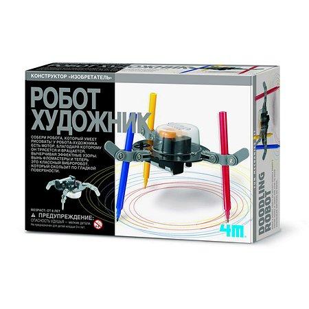 Познавательный набор 4M 4M 00-03280 Робот художник