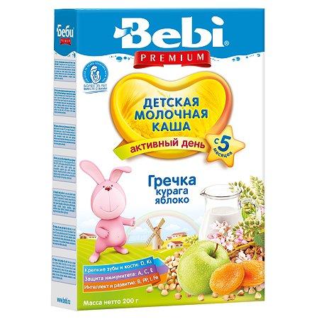 Каша Колинска Bebi Premium молочная гречка-курага-яблоко 200г с 5месяцев