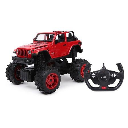 Машина Rastar РУ 1:14 Jeep Wrangler Jl Красная 79410