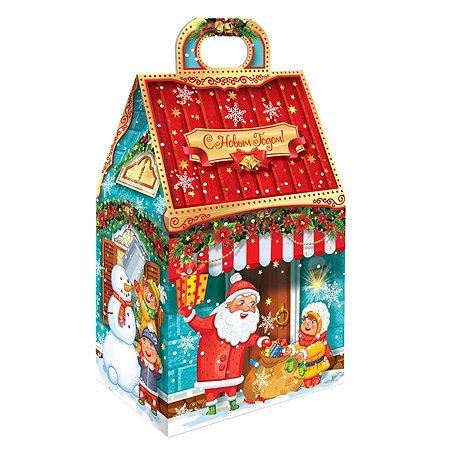 Набор подарочный Конфэшн Новогодний домик 140г