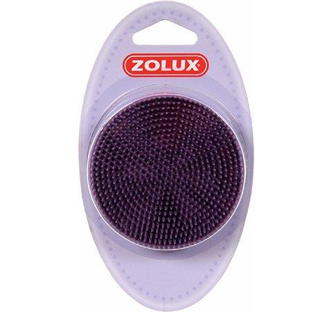 Щетка для кошек Zolux резиновая средняя Фиолетовая