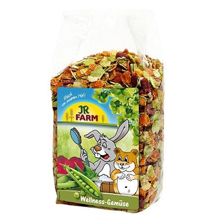 Лакомство для грызунов JR Farm Wellness Хлопья овощные 600г