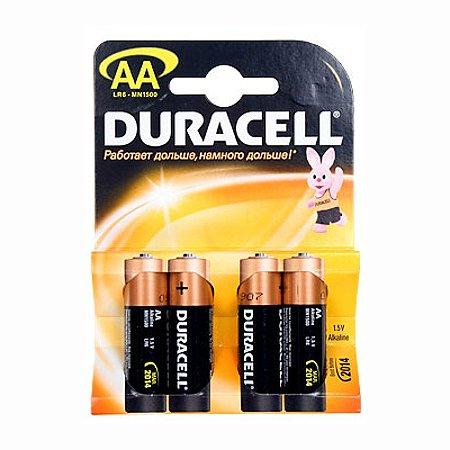 Батарейки Duracell Basic AA 4шт LR6-BC4