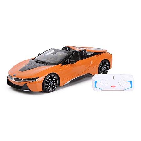 Машина Rastar РУ 1:12 BMW i8 Roadster Оранжевая 95500