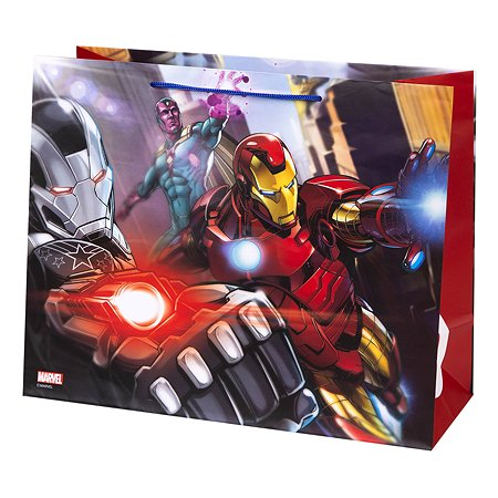 Пакет подарочный Феникс Презент Дисней Марвел Железный Мститель 32*26*13см 140г/м2 81186