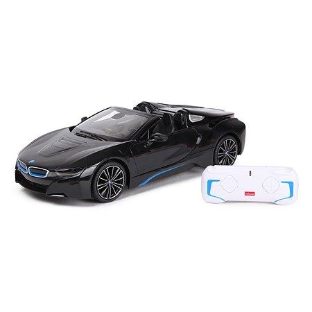 Машина Rastar РУ 1:12 BMW i8 Roadster Черная 95500