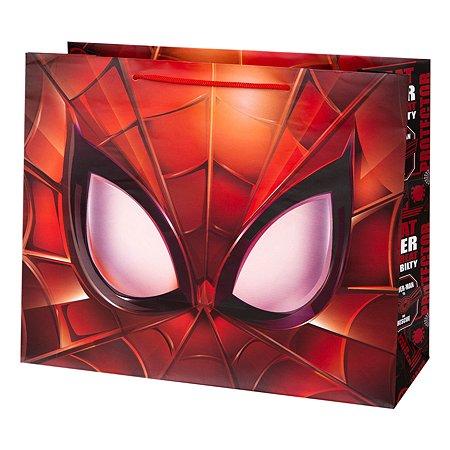 Пакет подарочный Феникс Презент Дисней Человек-паук 32*26*13см 140г/м2 81187