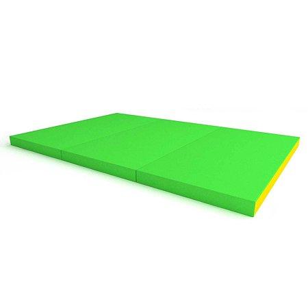Щит мягкий ROMANA тройной Зелёный-Жёлтый