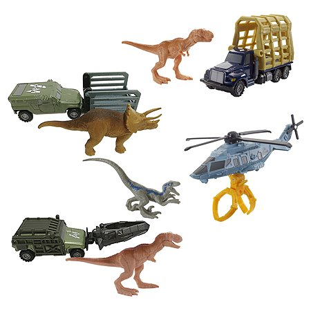 Игрушка Matchbox Jurassic World Транспортер для динозавров в ассортименте FMY31