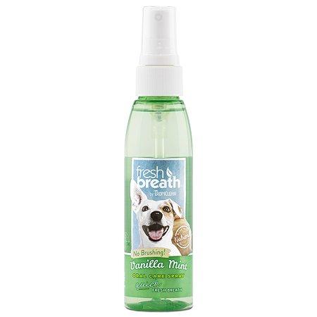 Спрей для собак TropiClean свежее дыхание ваниль-мята 118мл