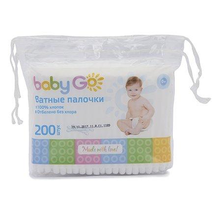 Палочки ватные Baby Go 200шт 7889