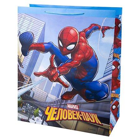 Пакет подарочный Феникс Презент Дисней Человек-паук 41*49*19см 157г/м2 81194