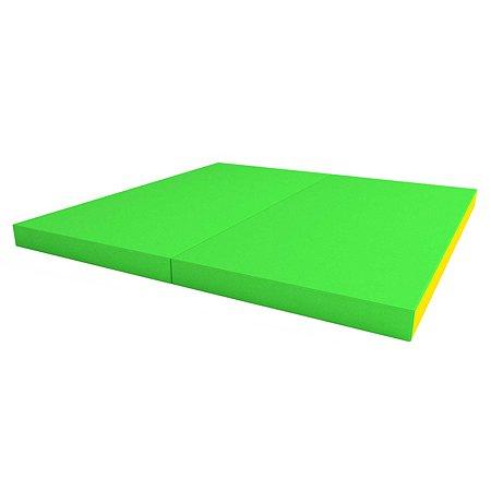 Щит мягкий ROMANA двойной Зелёный-Жёлтый
