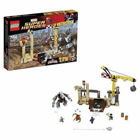 Конструктор LEGO Super Heroes Носорог и Песочный человек против Супергероев (76037)