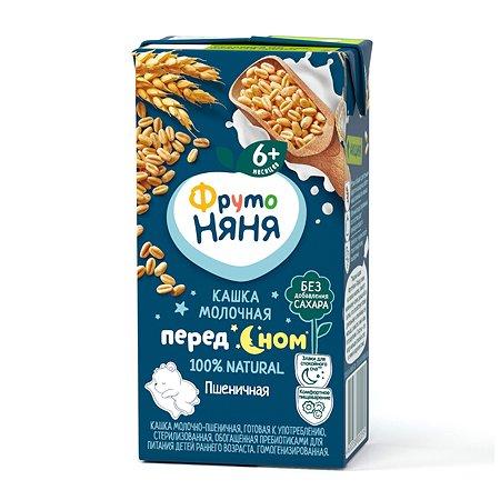 Кашка ФрутоНяня молочная пшеничная 0.2л с 6месяцев