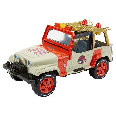 Машинка Matchbox Jurassic World Джип FNP46