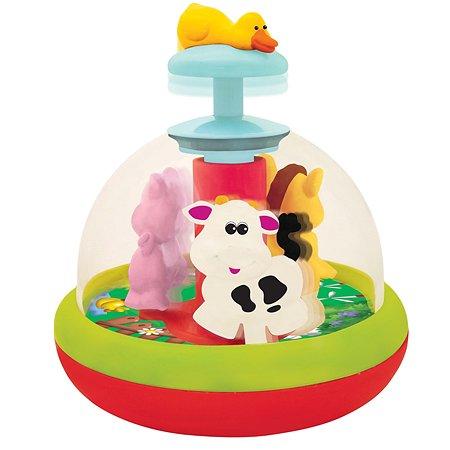 Развивающая игрушка Kiddieland Юла с животными