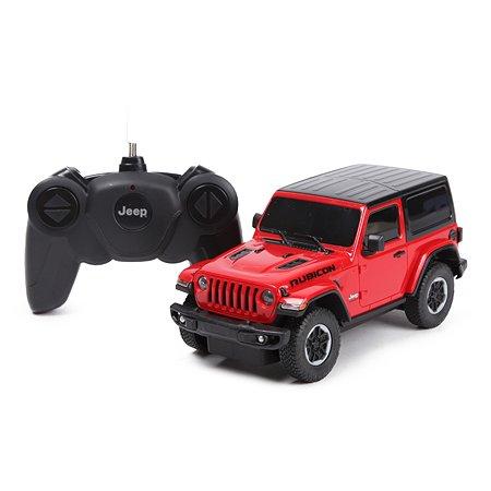 Машина Rastar РУ 1:24 Jeep Wrangler Jl Красная 79500