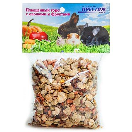 Лакомство для грызунов Престиж Плющеный горох с добавлением овощей 100г