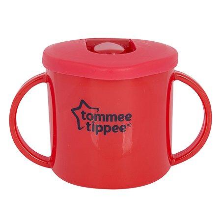 Чашка-непроливайка Tommee tippee 190мл красная 43111087-1