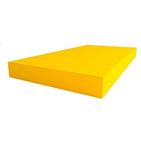 Щит мягкий ROMANA одинарный Жёлтый