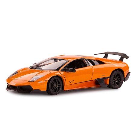 Машинка Rastar Murcielago LP670-4 1:24 оранжевая