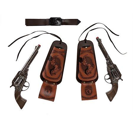 Техасский набор Gonher 2 револьвера
