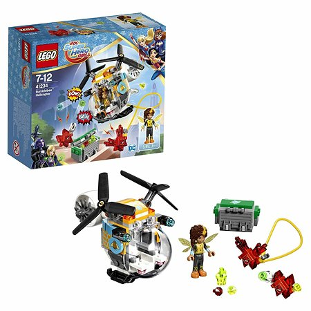 Конструктор LEGO DC Super Hero Girls Вертолёт Бамблби™ (41234)