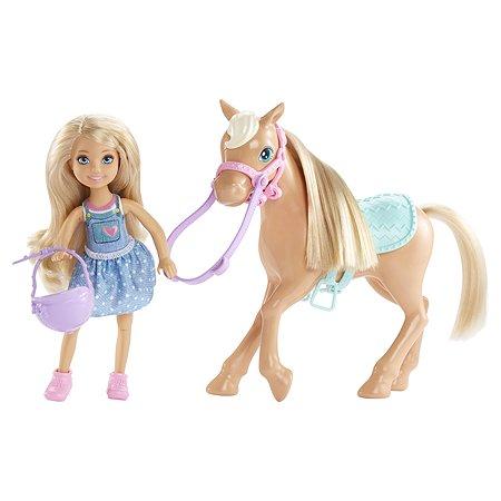 Кукла Barbie Челси и пони