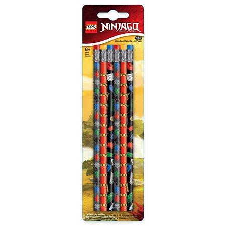 Набор карандашей LEGO ТМ грифельные 6шт 51618