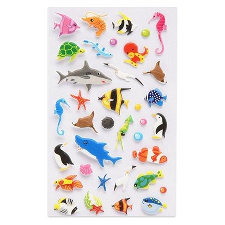 Наклейка декоративная зефирная Липляндия Подводный мир