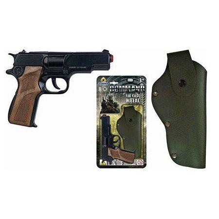 Пистолет Gonher с кобурой черный